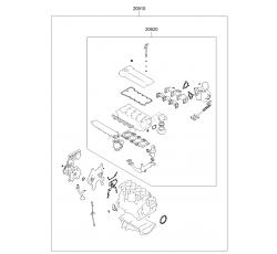 CONTA MOTOR [Takım] [2.0] SONATA 91-96 (HMC)