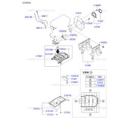 TRİGER KAPAĞI ALT ELANTRA 90-95/SONATA 92-97