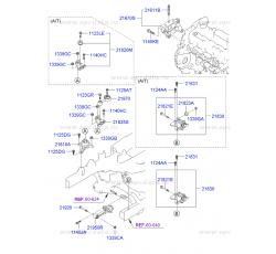 MOTOR KULAĞI LH İX35/SPORTAGE 11- DİZEL