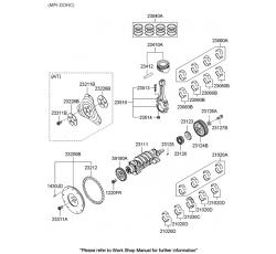 SEGMAN MOTOR [Std] ERA 1.6 06> (AZTEC)