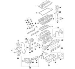 PİSTON MOTOR [050] COUPE 07> (HMC)