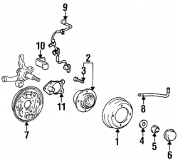 TABLA ARKA FREN [R] ACCENT 94> (HMC) BOŞ