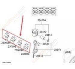 KOL YATAK ADET STD İX35/SPORTAGE 11-/SORENTO 10-/SANTA FE 13- DİZEL MAVİ