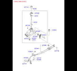 VİTES HALATI İ20 EM/YM DİZEL/BENZİN 1.4 (HN000-3798 AYNI)
