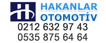 HAKANLAR OTOMOTİV  0212 632 97 43 0535 875 64 64